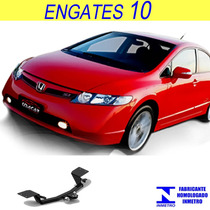 Engate Reboque Honda New Civic 2006 Ate 2016 Sem Furo