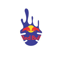 Adesivo De Paralama Personalizado Red Bull