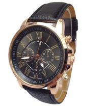 Relógio Geneva Lançamento Quartz - Últimas Unidades