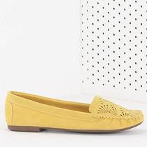 Sapato Mocassim Feminino Pensatto - Amarelo