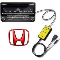 Adaptador Interface Usb Honda Civic Accord Fit Crv Pendrive