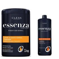 Creme Alisante Essenza Normal 1kg + Neutralizante 500ml