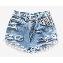 Shorts Jeans Customizado - Hot Pants