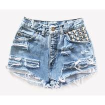 Shorts Jeans Customizado - Hot Pants
