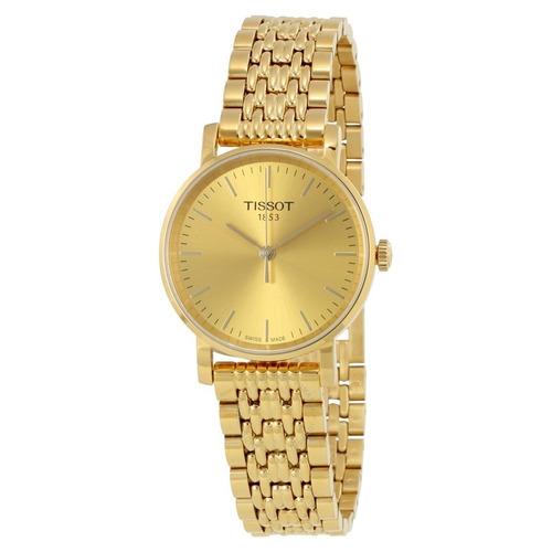 34d6fd6f02c Relogio Tissot Feminino T1092103302100 T- Classic Dourado