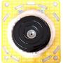 Kit Polimento Boina Lã + Disco + Adaptador P/ Furadeira