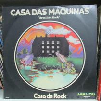 Lp Casa Das Maquinas Casa De Rock 1976 Exx Estado