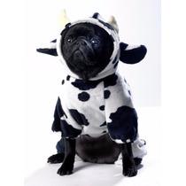 Roupa Cachorro Fantasia Vaquinha Raças Pequenas Pet Lord
