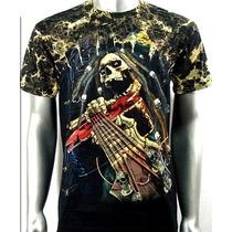 Camisa Survivor Marley Hemp Raggae Rastafari Tam. G
