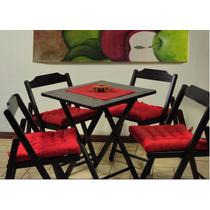 Kit Com 6 Assentos Para Cadeira Futton 40 X 40 Oxford Liso