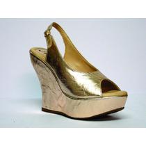 Anabela Bronze - Véria Calçados