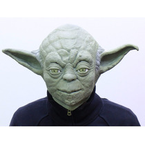 Star Wars - Yoda - Mascara Em Escala Real - Cosplay