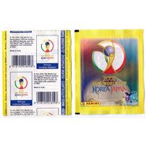 Envelope Figurinhas Copa 2002 Mundial Novo Lacrado Panini