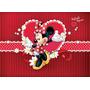 Painel Infantil Decorativo Lona Minnie Mouse 4 M X 2 M