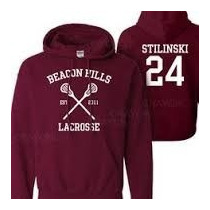 Moletom Teen Wolf Beacon Hills Lacrosse