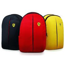 Mochila Ferrari Shell Original - Vermelha, Preta Ou Amarela