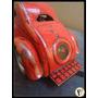 Antigo Brinquedo Americano Em Aço Mystery Car Anos 40