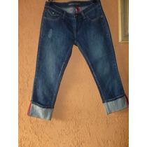 Calça Jeans Capri Element 40 Elastano