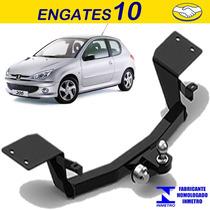 Engates Reboque Peugeot 206 207 Ratch Sem Furo