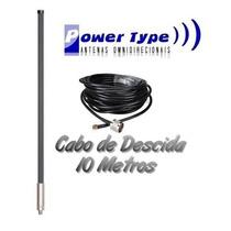 Antena Omnidirecional 25dbi + Cabo De 10 Metros