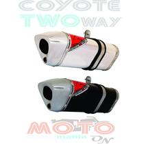 Escape / Ponteira Coyote Trs 2 Two Way - Cb 300 R - Honda