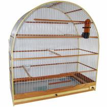 Gaiola Para Pássaro Curió Canário Azulão Número 6