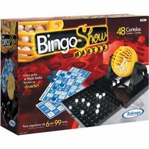 Brinquedo Jogo Bingo Show Master Com 48 Cartelas - Xalingo
