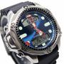Relógio Citizen Aqualand C500 Jp1011-07l Jp1010-00l Azul Blu
