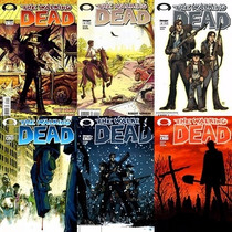 Hq The Walking Dead - Vol 1 - Edições 1,2,3,4,5 E 6