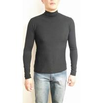 Blusa Cacharrel Gola Alta Masculina - Como Uma Segunda Pele