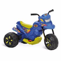 Moto Elétrica 6v Xt3 Azul Bandeirante