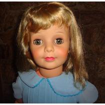 Boneca Amiguinha Estrela Anos 60 Olhos Verdes