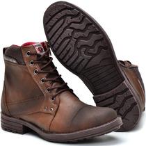 Sapato Coturno Bota Masculino Casual Ziper Lateral Social