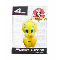 Pen Drive Looney Tunes Piu Piu 4gb Emtec Personagens Usb 2.0