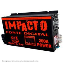 Fonte Automotiva Impacto, 200 Amperes, 12v À 14,4v Ajustável
