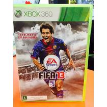 Jogo Fifa 13 Xbox 360, Totalmente Em Português Xbox 360
