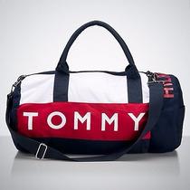Bolsa De Viagem Tommy Hilfiger - Duffle Bag Tamanho Grande