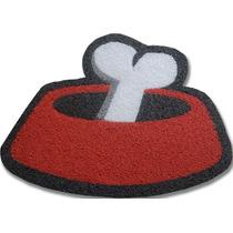 Tapete Capacho Personalizado Pote De Ração