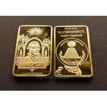 Lingote Illuminati Banhado A Ouro 24k