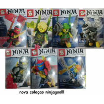 Lego Ninjago Bonecos Ninjas