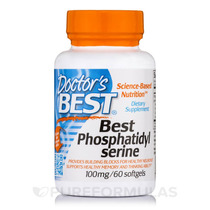 Melhores Fosfatidilserina 100 Mg - 60 Cápsulas Por Doctor-n