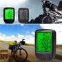 Velocímetro Odômetro Bike Bicicleta Cronometro Lcd Com Luz