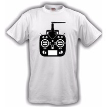 Camiseta Aeromodelismo Rádio - Branca