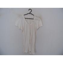 Blusa Feminina Branca Manguinhas Cód. 817