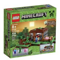 Lego Minecraft 21115 A Primeira Noite 408 Peças - P Entrega!