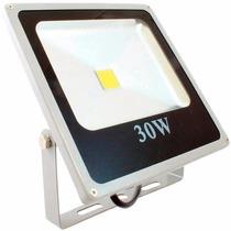 Refletor Holofote Led Branco Frio 30w Bivolt 6000k