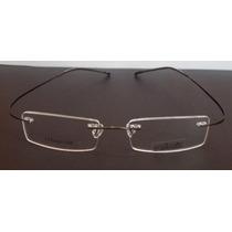Armação Oculos Grau Flexivel Silhouette Beta Titanium Grafit