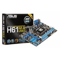 Kit Placa H61 Lga1155 + Intel I3 + Mem 4gb Ddr3 + Cooler