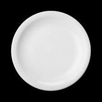Conjunto Pratos Sobremesa 4 Peças Porcelana Schmidt Branco