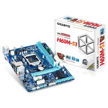 Placa Mae Lga 1155 Intel Matx Ddr3 1333mhz Chipset H61